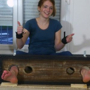 All good for Tana and her feet at genuine tickling
