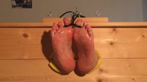 Newbie S – Stocked, Toetied, Lotioned and Tickled