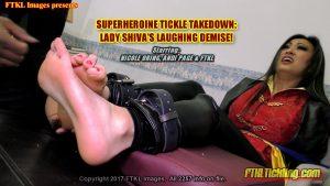 Superheroine Tickle Takedown! Lady Shiva's Laughing Demise!