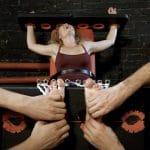 Vanda. Foot tickling hell