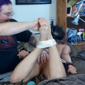 Lacey's Hogtie Tickle