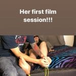 Her First Film Session