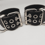 Leather Ankle Cuffs